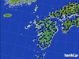 九州地方のアメダス実況(日照時間)(2020年07月05日)
