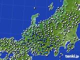 北陸地方のアメダス実況(降水量)(2020年07月06日)
