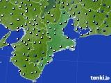 三重県のアメダス実況(降水量)(2020年07月06日)