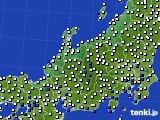 北陸地方のアメダス実況(風向・風速)(2020年07月06日)