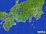 東海地方のアメダス実況(降水量)(2020年07月07日)