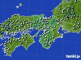 近畿地方のアメダス実況(降水量)(2020年07月07日)
