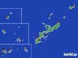 沖縄県のアメダス実況(日照時間)(2020年07月07日)
