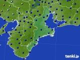 2020年07月09日の三重県のアメダス(日照時間)