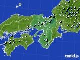 近畿地方のアメダス実況(降水量)(2020年07月11日)