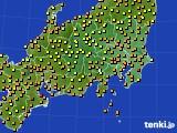アメダス実況(気温)(2020年07月11日)
