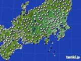 2020年07月11日の関東・甲信地方のアメダス(風向・風速)