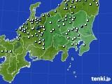 関東・甲信地方のアメダス実況(降水量)(2020年07月15日)