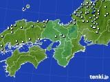 近畿地方のアメダス実況(降水量)(2020年07月15日)