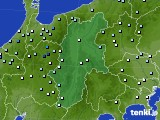 長野県のアメダス実況(降水量)(2020年07月15日)