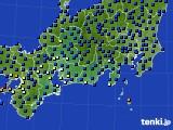 東海地方のアメダス実況(日照時間)(2020年07月15日)