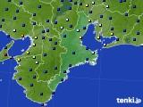 2020年07月15日の三重県のアメダス(日照時間)