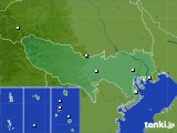 2020年07月17日の東京都のアメダス(降水量)