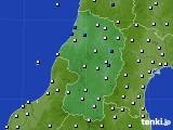 2020年07月18日の山形県のアメダス(風向・風速)