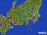 アメダス実況(気温)(2020年07月20日)