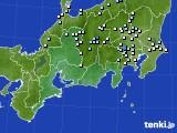 東海地方のアメダス実況(降水量)(2020年07月23日)
