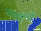 2020年07月25日の東京都のアメダス(降水量)