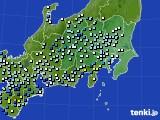 2020年07月26日の関東・甲信地方のアメダス(降水量)