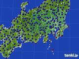 関東・甲信地方のアメダス実況(日照時間)(2020年07月26日)