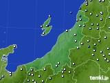 新潟県のアメダス実況(降水量)(2020年07月27日)