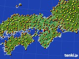アメダス実況(気温)(2020年07月27日)