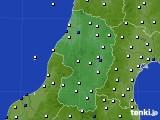 山形県のアメダス実況(風向・風速)(2020年07月28日)