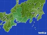 東海地方のアメダス実況(降水量)(2020年07月29日)