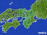 近畿地方のアメダス実況(降水量)(2020年07月29日)