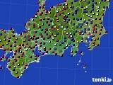 東海地方のアメダス実況(日照時間)(2020年08月01日)