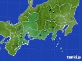 東海地方のアメダス実況(降水量)(2020年08月03日)