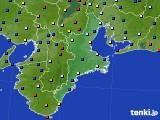 2020年08月03日の三重県のアメダス(日照時間)