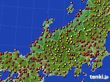 アメダス実況(気温)(2020年08月03日)