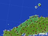 島根県のアメダス実況(気温)(2020年08月04日)