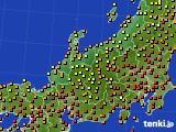 アメダス実況(気温)(2020年08月07日)