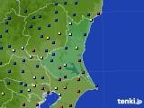 茨城県のアメダス実況(日照時間)(2020年08月08日)
