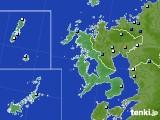 長崎県のアメダス実況(降水量)(2020年08月10日)