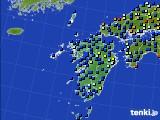 九州地方のアメダス実況(日照時間)(2020年08月10日)