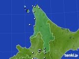 道北のアメダス実況(降水量)(2020年08月11日)
