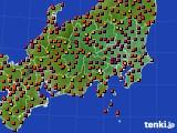 アメダス実況(気温)(2020年08月11日)