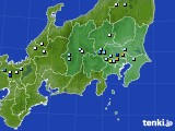 2020年08月12日の関東・甲信地方のアメダス(降水量)