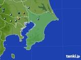 千葉県のアメダス実況(降水量)(2020年08月12日)