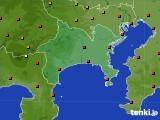 アメダス実況(気温)(2020年08月12日)