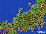 アメダス実況(気温)(2020年08月13日)