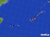 2020年08月14日の沖縄地方のアメダス(日照時間)