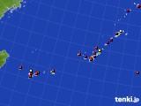 2020年08月15日の沖縄地方のアメダス(日照時間)