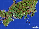 アメダス実況(気温)(2020年08月19日)