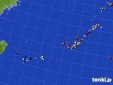 2020年08月21日の沖縄地方のアメダス(日照時間)