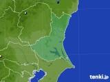 茨城県のアメダス実況(降水量)(2020年08月22日)