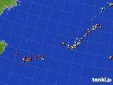 沖縄地方のアメダス実況(気温)(2020年08月26日)