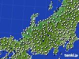 北陸地方のアメダス実況(風向・風速)(2020年08月26日)